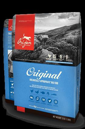ORIJEN Original Biologically Appropriate Dog Food Bag