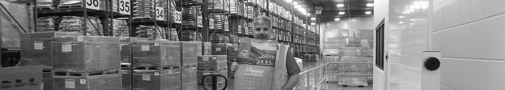 Jeff, Warehouse Manager, DogStar Kitchens