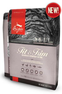 ORIJEN Fit & Trim Biologically Appropriate Cat Food Bag