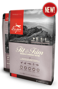 ORIJEN Fit and Trim Biologically Appropriate Dog Food Bag