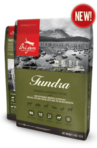 ORIJEN Tundra Biologically Appropriate Cat Food Bag