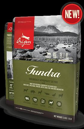 ORIJEN Tundra Biologically Appropriate Cat Food Bag