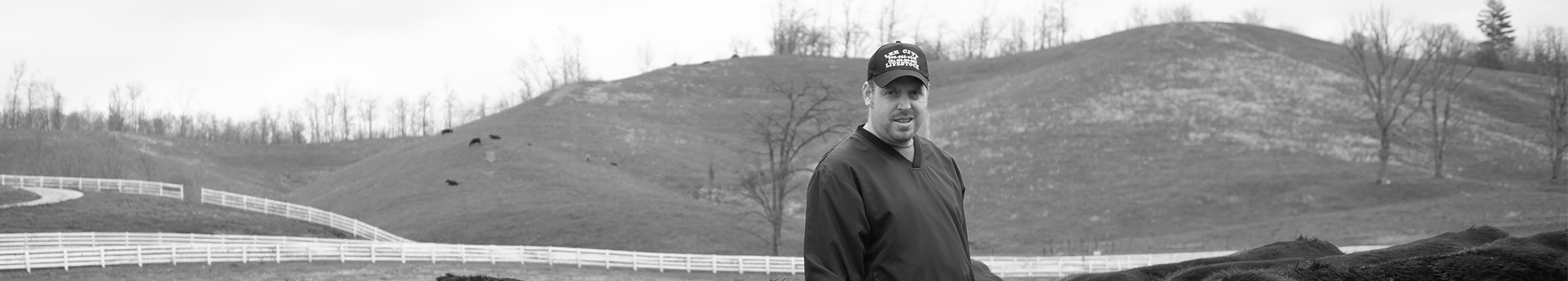 JONATHAN OF JSW FARMS IN LIBERTY (OR HAZEL GREEN), KENTUCKY. TRUSTED SUPPLIER OF RANCH-RAISED BEEF.